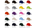 Brushed Promo Cap Colour Adult 1