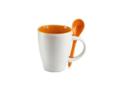 Keramisch koffiemok met lepel - 250 ml 6
