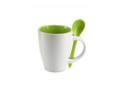 Keramisch koffiemok met lepel - 250 ml 1