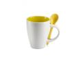 Keramisch koffiemok met lepel - 250 ml 2