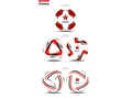 Logo voetballen Custom Made 4