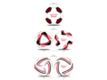 Logo voetballen Custom Made 3