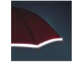 Automatic silver stripe umbrella 8