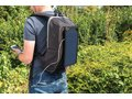Solar panel power hiking backpack PVC free 10