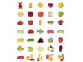Fruit jelly standard shapes 1