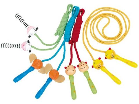 Colourful skipping rope