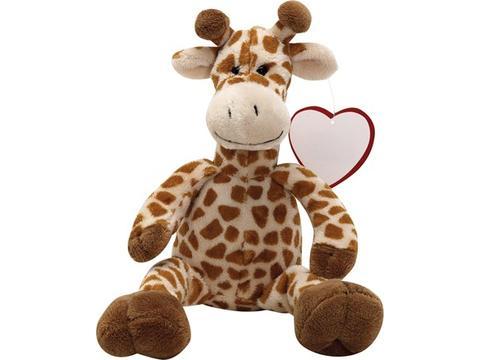Super cuddly plush giraffe
