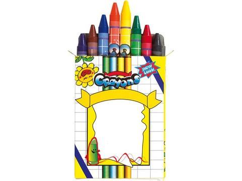 Set de 8 crayons de cire