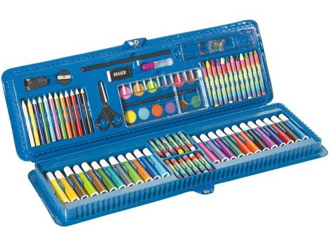 85 piece colouring set