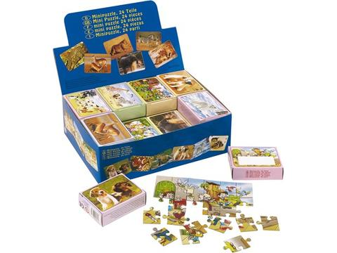 Puzzle  with 24 puzzle pieces