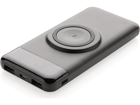 10.000 mah wireless powerbank with watch charger