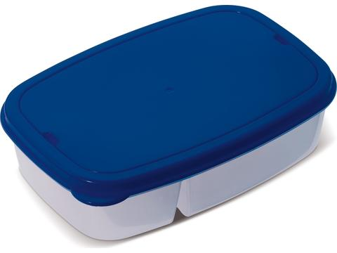 Lunch box with cutlery