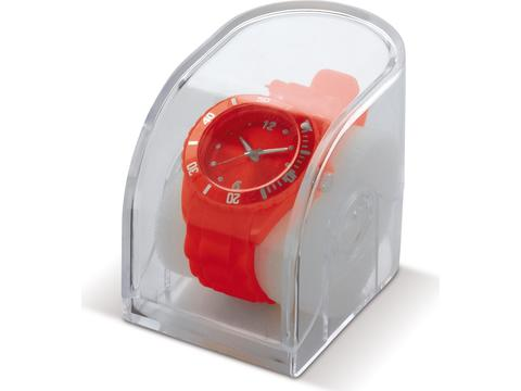 Montre fashion silicone