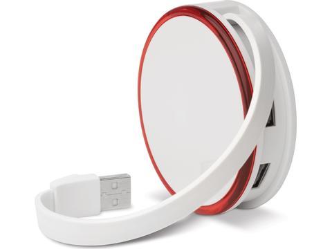 Light HUB with 4 USB ports