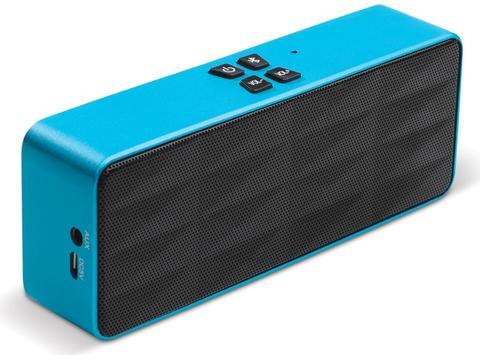 Draadloze aluminium speaker