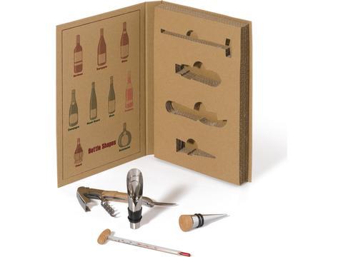 Wine set ecological