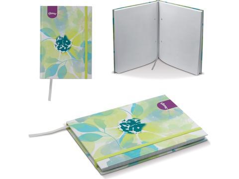 Maatwerk notitieboek met harde kaft
