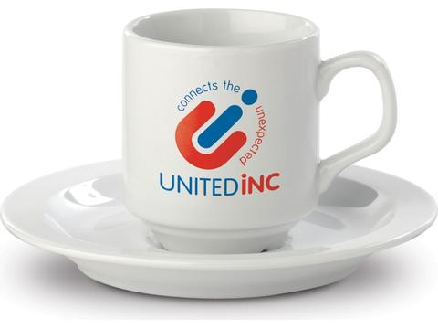 Madrid cup ans saucer
