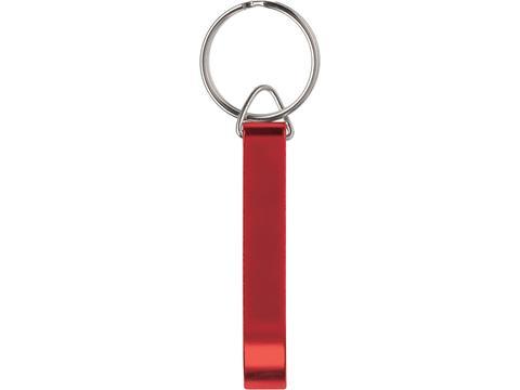 Keyring with bottle opener