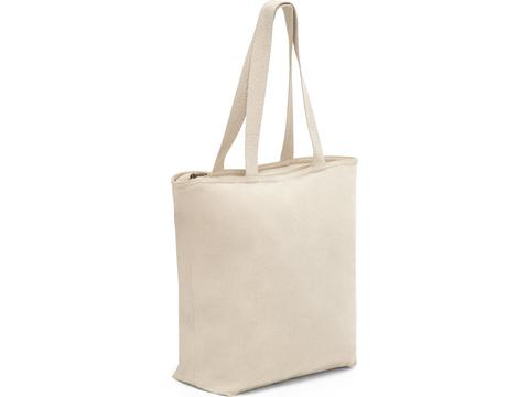 Katoenen tas met rits Hackney