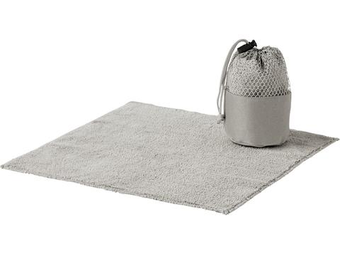 Mini towel with pouch