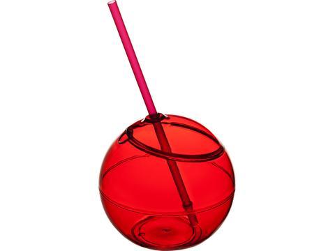 Fiesta ball and straw