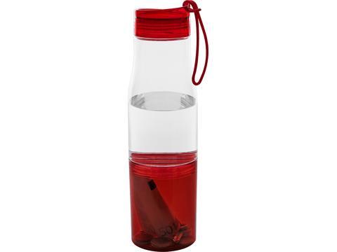 Drinkfles met siliconen bandje - 475 ml
