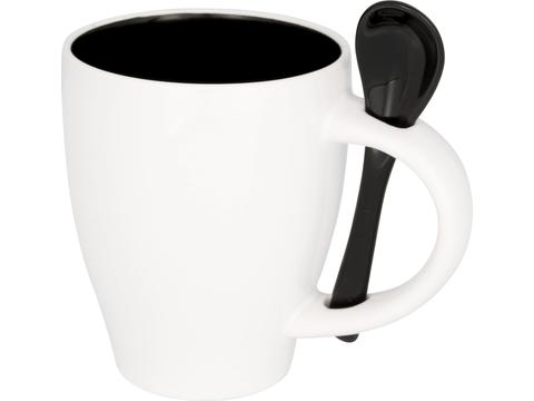Nadu mug with spoon