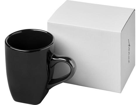 High gloss ceramic mug