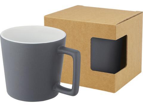 Tasse Cali de 370ml en céramique avec finition mate