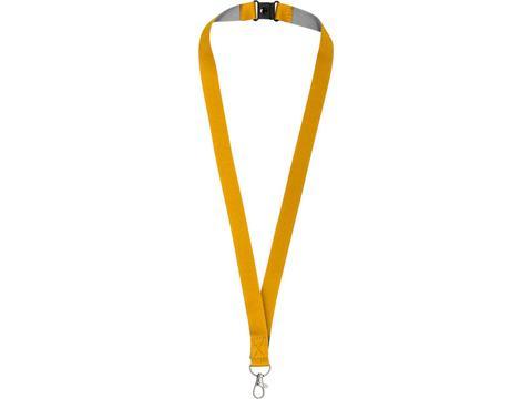 Keycord met klittebandsluiting