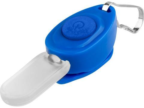 Eagle zipper puller key light