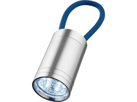 Lampe torche à 6 LED Vela avec dragonne lumineuse