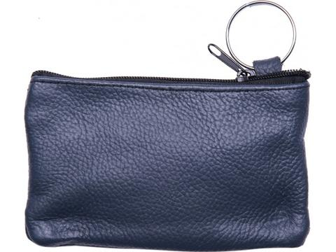 Wallet leather keychain