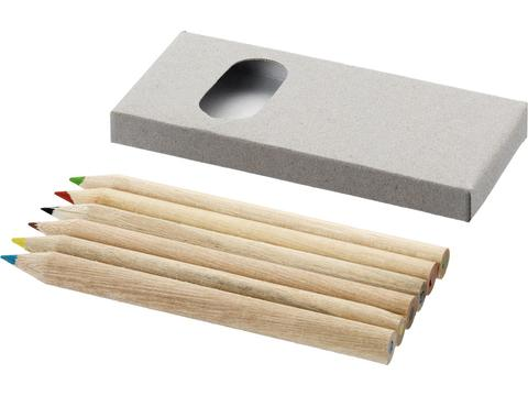 Set 6 crayons à papier