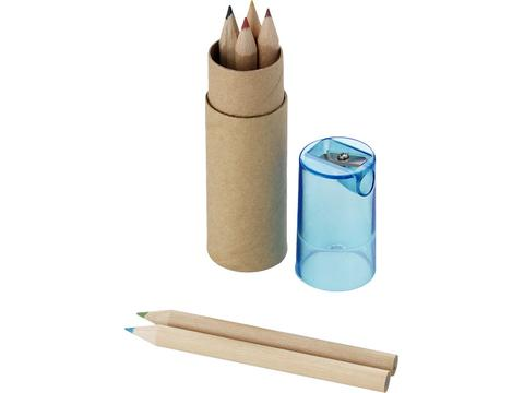 7 Pieces Pencil Case Sharpener