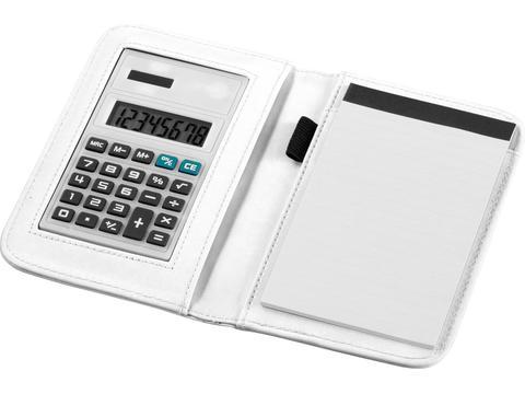 Notitieboek met rekenmachine