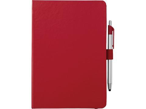 A5 notitieboek met stylus balpen