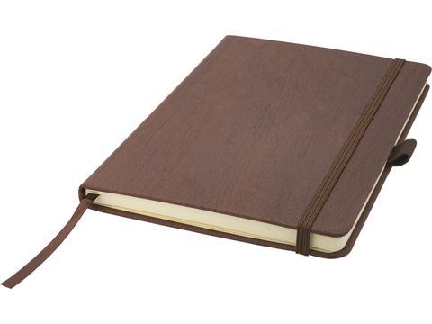 Hout-look notitieboek