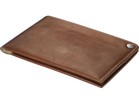 Portefeuille de voyage en cuir