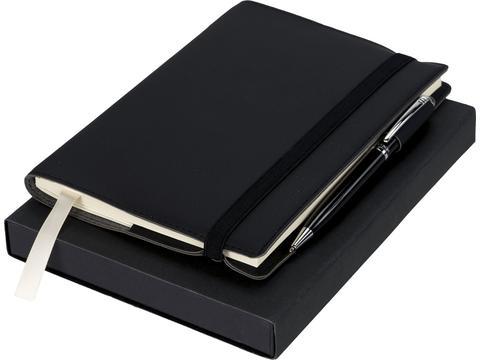 Luxe cadeauset met notitieboek en pen