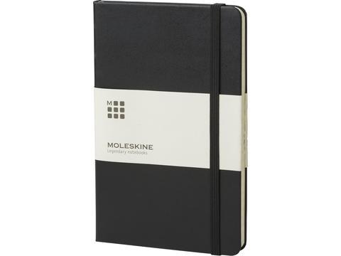 Classic Medium Hard Cover Notebook Ruled