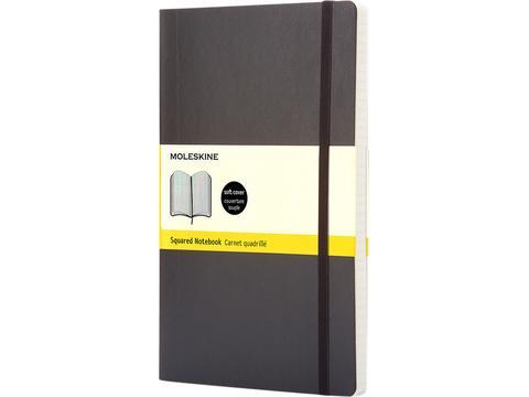 Carnet Classic format poche à couverture souple - quadrillé