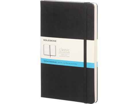 Classic L hard cover notitieboek - gestippeld