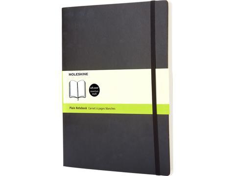 Classic XL soft cover notitieboek - effen