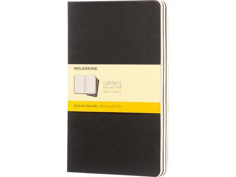 Cahier dagboek L - ruitjes