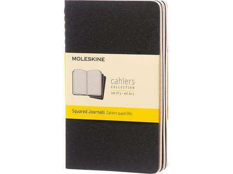 Journal Cahier de poche - quadrillé
