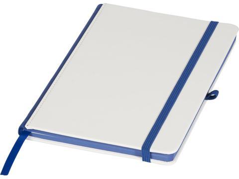 Notitieboek met gekleurde rug