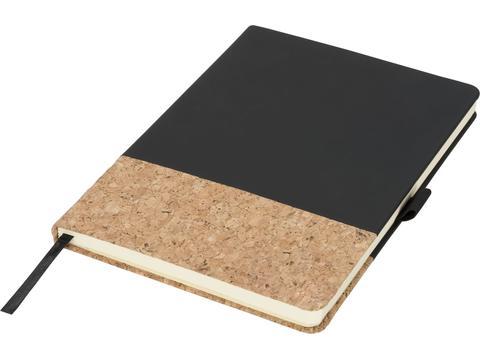 A5 notitieboek uit kurk