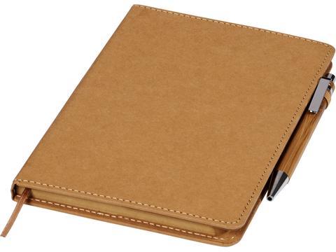 Ensemble stylo à bille et bloc-notes Celuk